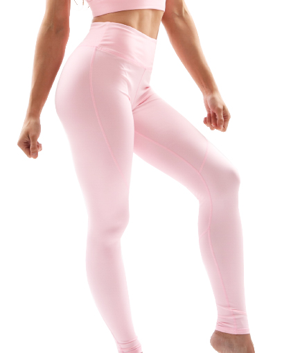 pale pink seamless leggings
